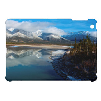 The Athabasca River in Jasper National Park Cover For The iPad Mini