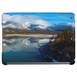 The Athabasca River in Jasper National Park iPad Air Covers