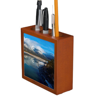 The Athabasca River in Jasper National Park Pencil Holder