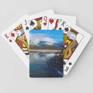 The Athabasca River in Jasper National Park Playing Cards