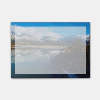 The Athabasca River in Jasper National Park Post-it Notes
