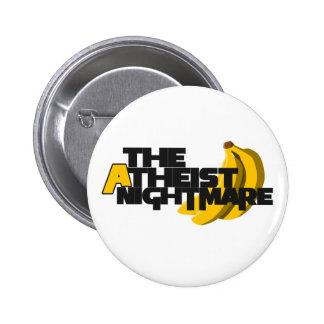 The Atheist Nightmare 2 Inch Round Button