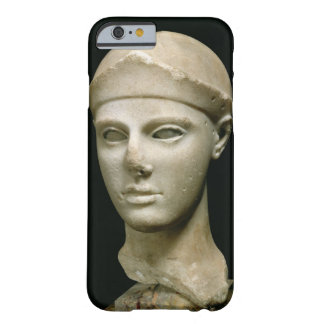 The Athena of Aegina, wearing a helmet, head of a Barely There iPhone 6 Case