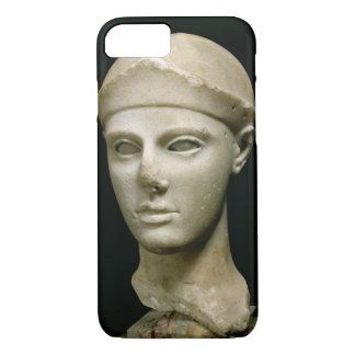The Athena of Aegina, wearing a helmet, head of a iPhone 8/7 Case