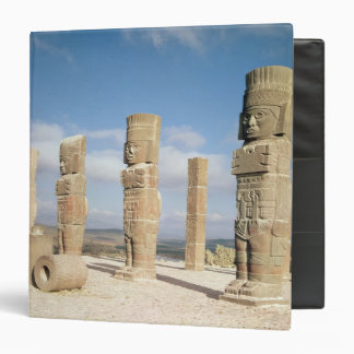 The atlantean columns on top of Pyramid B 3 Ring Binder