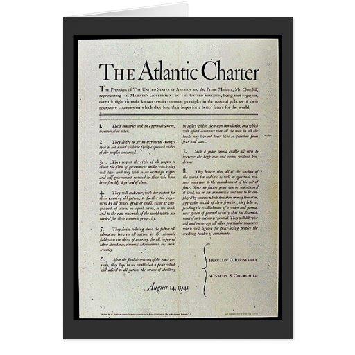 The Atlantic Charter Card