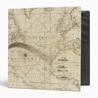 The Atlantic Ocean 3 Ring Binders
