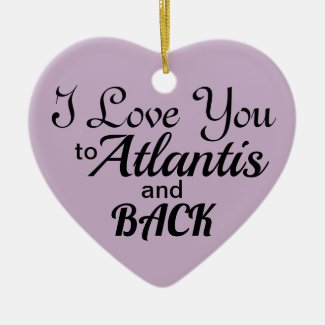 The Atlantis Grail Holiday 2018 Heart Ornament