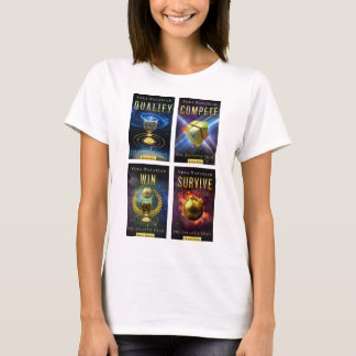 The Atlantis Grail Series - 4-Cover - T-Shirt