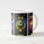 "The Atlantis Grail Series - Jumbo Mug<br><div class=""desc"">Jumbo Mug displaying the complete set of The Atlantis Grail 4-book Series covers.</div>"