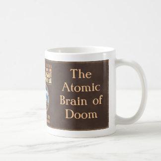 The Atomic Brain of Doom Coffee Mug