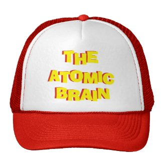 The Atomic Brain Trucker Hat