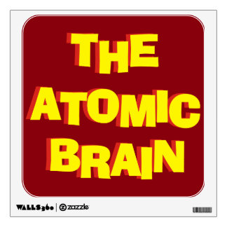 The Atomic Brain Wall Sticker