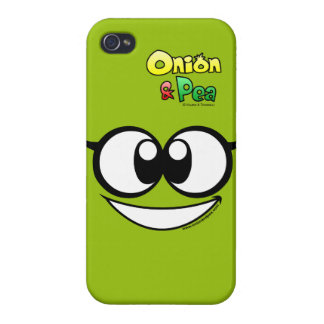 The Atomic Pea iphone 4/4S case. iPhone 4/4S Carcasa
