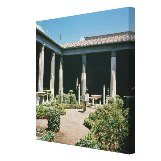The Atrium, House of the Vettii Canvas Print