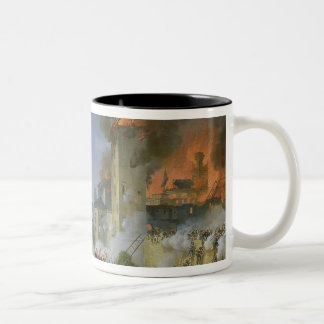 The Attack and Taking of Ratisbon Two-Tone Coffee Mug