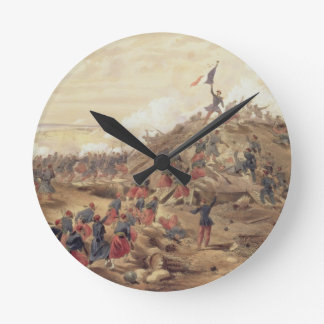 The Attack on the Malakoff, plate from 'The Seat o Round Clock