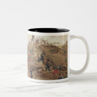 The Attack on the Malakoff, plate from 'The Seat o Two-Tone Coffee Mug