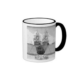The Attempt made to Salvage the HMS Royal Ringer Coffee Mug