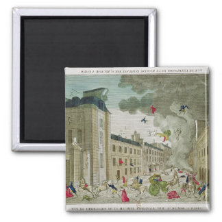 The Attempted Assassination of Napoleon Bonaparte Magnet