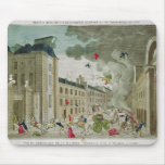 The Attempted Assassination of Napoleon Bonaparte Mouse Pad