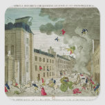 The Attempted Assassination of Napoleon Bonaparte Stickers