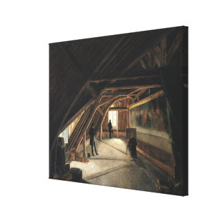 The Attic of a Museum Stretched Canvas Prints
