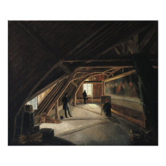 The Attic of a Museum Print
