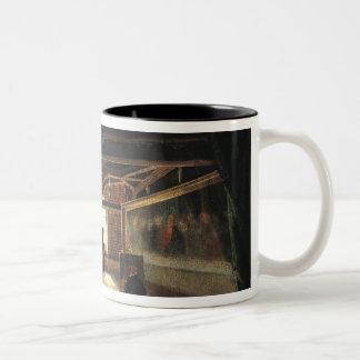 The Attic of a Museum Two-Tone Coffee Mug