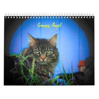 The Attitude of Grumpy Angel 16 Month Calendar