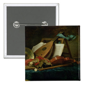 The Attributes of Music, 1770 (oil on canvas) Button