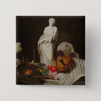 The Attributes of the Arts Pinback Button