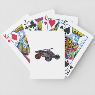 THE ATV EDGE BICYCLE PLAYING CARDS