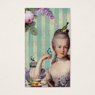 Thé au Petit Trianon calling card