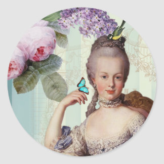 Thé au Petit Trianon Classic Round Sticker