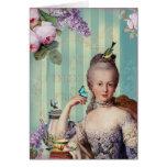 Thé au Petit Trianon Greeting Card