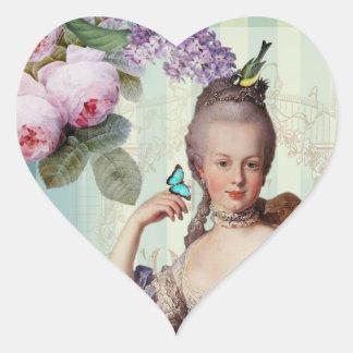 Thé au Petit Trianon Heart Sticker