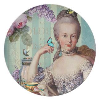 Thé au Petit Trianon Plates