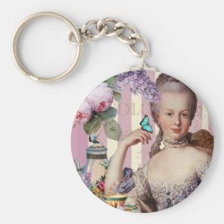 Thé au Petit Trianon – rose Keychains