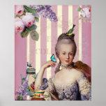 Thé au Petit Trianon – rose Posters