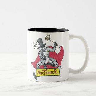 The Auctioneer Two-Tone Coffee Mug