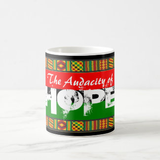 The Audacity of HOPE Classic White Coffee Mug