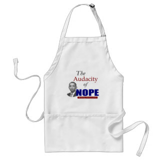The Audacity of NOPE! Adult Apron