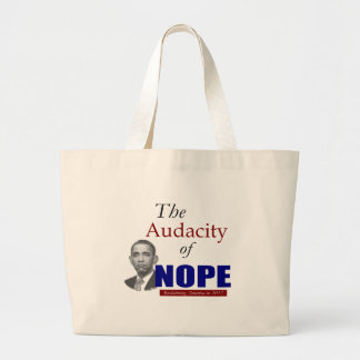The Audacity of NOPE! Tote Bag