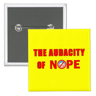 The Audacity of NOPE Pin