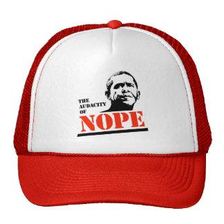 THE AUDACITY OF NOPE MESH HAT