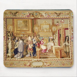 The Audience of Cardinal Chigi with Louis XIV Mouse Pad
