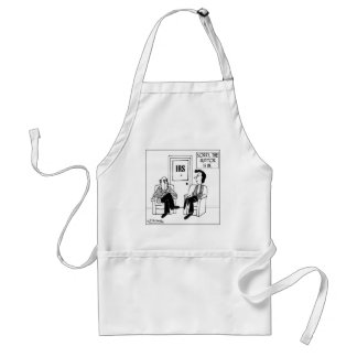 The Auditor Is In Adult Apron
