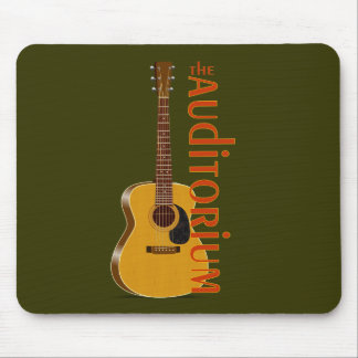 The Auditorium Acoustic Guitar Mouse Pad