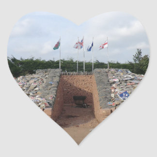 The Auld Acquaintance Cairn - Testimony to the UK Heart Sticker